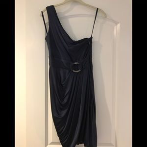 BCBG MaxAzria One Shoulder Dress